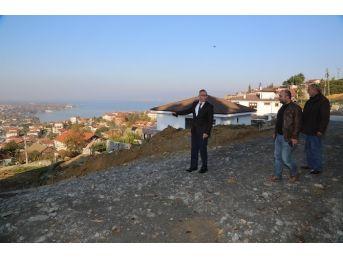 Sapanca Belediye Başkanı Göl Mahallesi Çalışmalarını Yerinde İnceledi