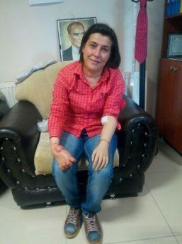 18 Yaşındayken Kolunu Kaybeden Fatma Aktürk'e Amasyalılar Sahip Çıktı