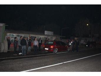 Tekirdağ'da Otomobil Motosiklete Çarptı: 1 Yaralı