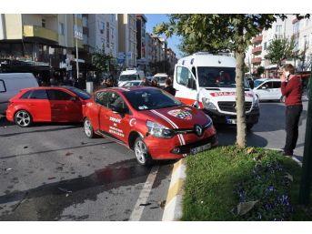 Tekirdağ'da Trafik Kazası: 1 Yaralı