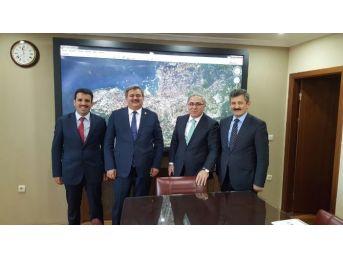 Çaturoğlu'nun Kiritik Görüşmelerde Zonguldak'ı Konuştu