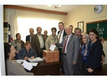 Chp Alaplı İlçe Kongresi Öncesi Delege Seçimi Yapıldı