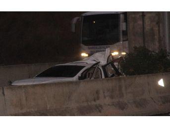 Otoyolda Trafik Kazası: 1 Ölü