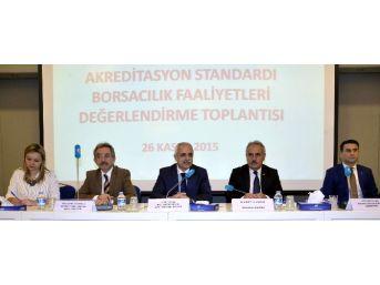 Atb, Akreditasyon Standardı Borsacılık Faaliyetleri Toplantısına Katıldı