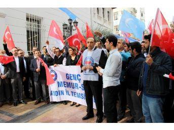 Aydın Genç Memur-sen, Bayırbucak Türkmenlerine Yönelik Saldırıları Kınadı