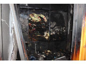 Evde Önce Kavga Sonra Yangın Çıktı