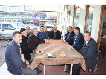 Milletvekili Tunç, Abdipaşa'da Ziyaretlerde Bulundu