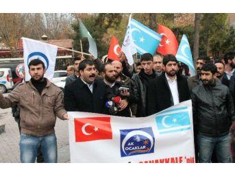 Ak Ocaklar'dan Türkmenler'e Destek