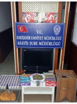 Eskişehir'de Tombala Operasyonu