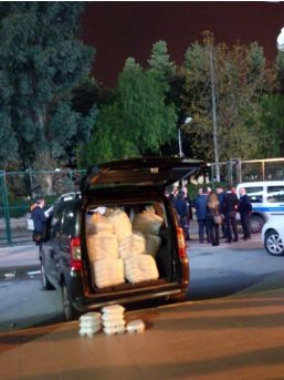 Maçta Dağıtılan Kumanya Polisi Zehirledi