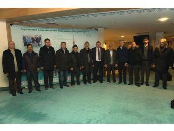 Kosb Heyeti, İş Adamlarımızla Birlikte Moskova Merkez Camiini Ziyaret Etti