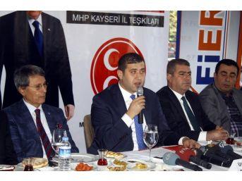 Mhp Kayseri Delegelerinden Bahçeli'ye Tam Destek