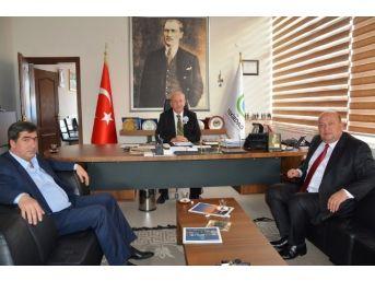 Pınarhisar Belediye Başkanı Cingöz'den Başkan Albayrak'a Ziyaret