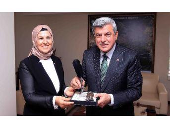 Milletvekilleri Katırcıoğlu Ve Yaman'dan Başkan Karaosmanoğlu'na Ziyaret