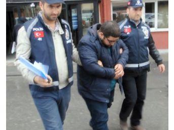 Seri Kapkaççı Önce Kameraya Sonra Polise Yakalandı