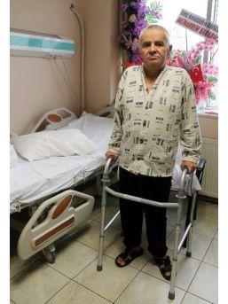 Belinden Aşağısı Felç Olan Kıbrıs Gazisi Ameliyatla Ayağa Kalktı