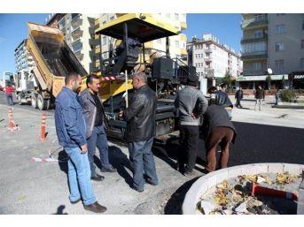 Seydişehir'de Seyyid Harun Veli Bulvarı'nda Çevre Düzenlemesi Başladı
