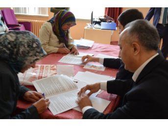 """Hisarcık Çpal'da """"gelişim İçin Avrupada Mesleki Eğitim"""" Projesi"""