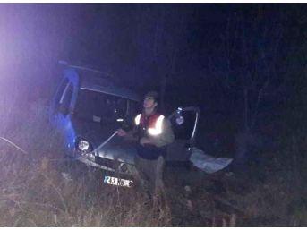 Şaphane'de Trafik Kazası: 1 Ölü, 4 Yaralı