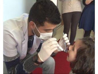 Miniklere Diş Ve Ağız Sağlığı Anlatıldı