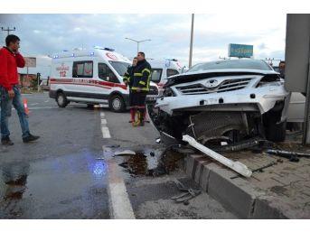 Turgutlu'da Trafik Kazası: 6 Yaralı