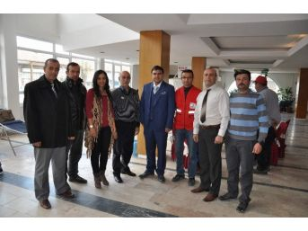 Kaymakam Balcı'dan Kızılay Kan Bağış Kampanyasına Destek