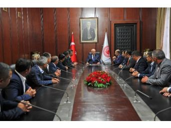 Başkan Akdoğan Ve Meclis Üyelerinden Tbmm Başkanı Kahraman Ve Niğde Milletvekillerine Ziyaret