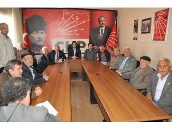 Chp Merkezilçe Başkan Adayı Kamil Davarcı Adaylığını Açıkladı