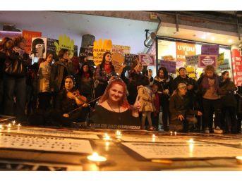 Samsun'da Kadınlar Ve Eşcinsellerden Ortak Eylem