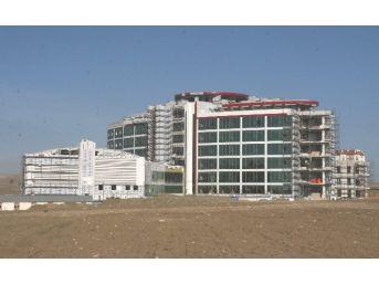 Sorgun 250 Yataklı Devlet Hastanesi İnşaatı Hızla Sürüyor