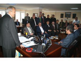 Rektör Özer'den Devrek Belediyesi'ne Ziyaret