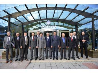 Rektör Prof. Dr. Özer, İl Ve İlçelerin Tso Yöneticileri İle Bir Araya Geldi