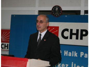 Chp İl Başkanı Mustafa İzgin Merkez İlçe'ye Aday