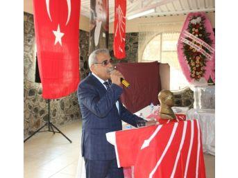 Chp Erzin İlçe Başkanı Ali Sarar Güven Tazeledi