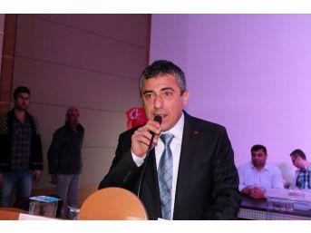 Chp Samandağ İlçe Başkanlığına Aydoğan Yeniden Seçildi