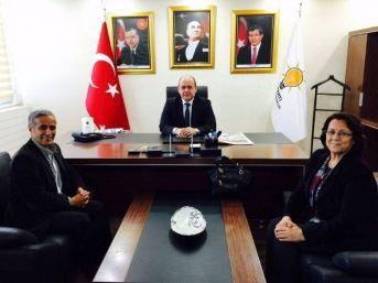Yurttaş'dan Gürcan'a Ziyaret