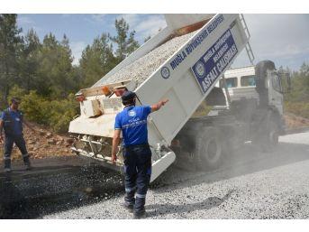 Büyükşehir'den Kırsala 25 Milyon Tl'lik Yatırım