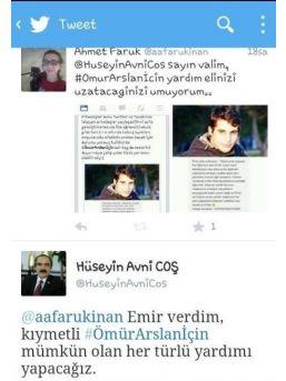 Vali Coş Kazada Ağır Yaralanan Ömür Arslan'a Yardım Edecek