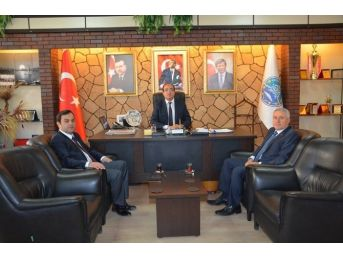 Bucak'tan Başkan Çöl'e Ziyaret