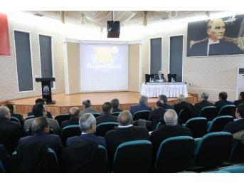 Erzincan Kent Konseyi 3. Olağan Kurul Toplantısı Gerçekleştirildi