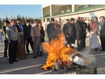 Sandıklı'da Termal Otellerde Yangın Tatbikatı Yapıldı