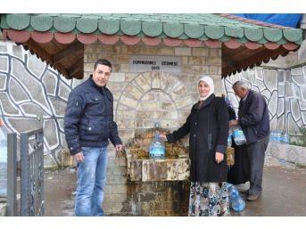 Simav'da Memba Suyuna İlgi