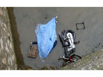 Derede Motosikletiyle Cesedi Bulundu