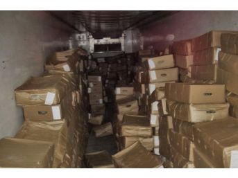 Amasya'da 268 Bin 880 Paket Kaçak Sigara Ele Geçirildi