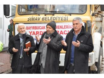 Simav'dan Bayırbucak Türkmenleri'ne Yardım