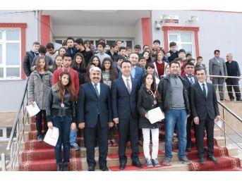 Teog Sınavı Türkiye İkincisi Ödüllendirildi