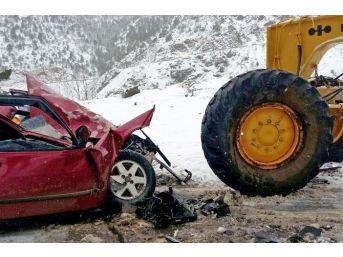 Gümüşhane'de Hafta Sonu 6 Trafik Kazası Meydana Geldi