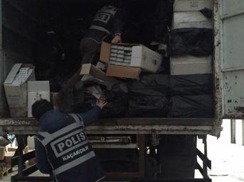 Polis Kaçakçılara Göz Açtırmadı