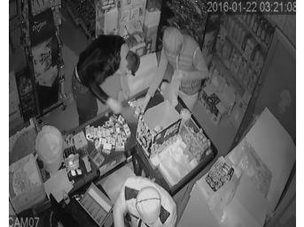 Vip Minibüslü Hırsızlar Güvenlik Kamerasında