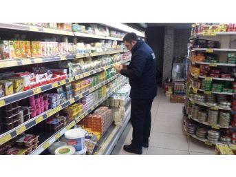 Çaycuma Zabıta Ekiplerinden Bakkal Ve Marketlere Denetim